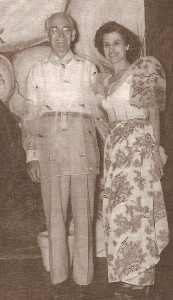 IMAGE: Rev. Evelyn and Arthur Thompson in traditional Filipino clothing